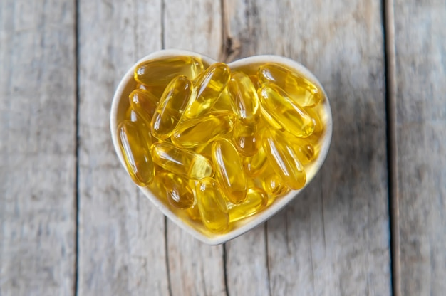 Kapsułki omega 3.