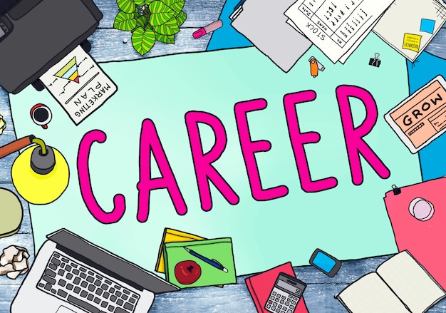 Kariera praca praca zatrudnienie rekrutacja koncepcja