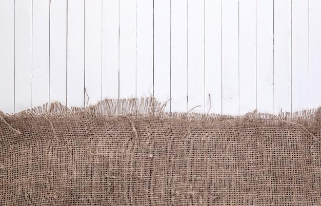 Karmowy biały drewniany tło