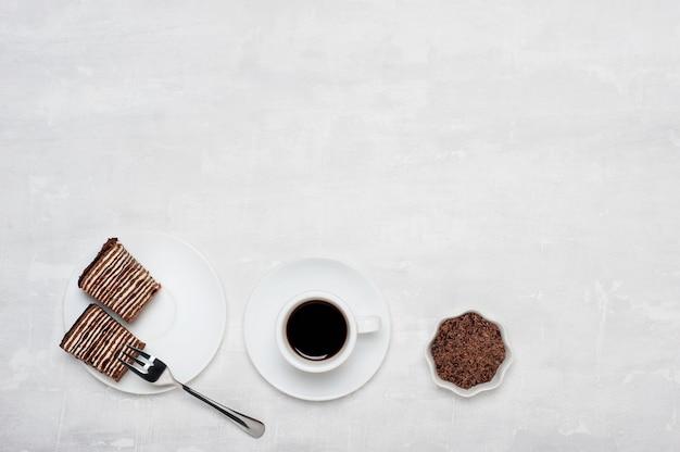 Karmowy słodki kreatywnie z kopii przestrzenią.
