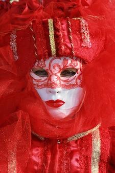Karnawałowa maska w wenecji