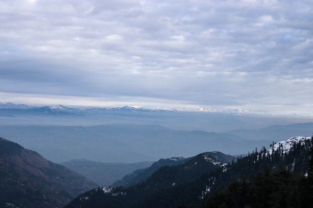 Karpaty palce góra nieba śnieg