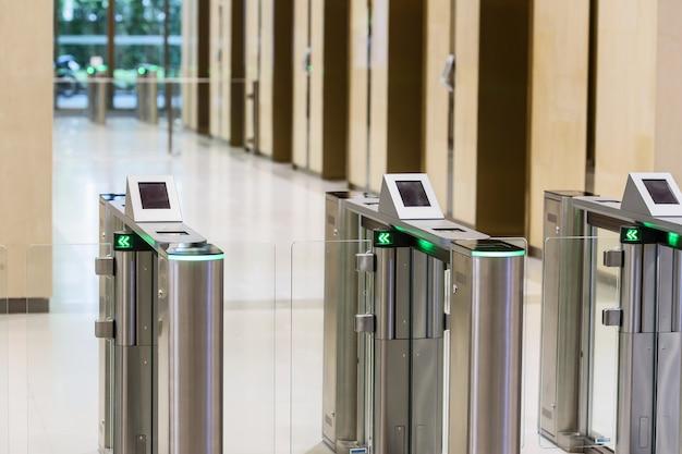 Karta elektronicznej bramki wjazdowej.