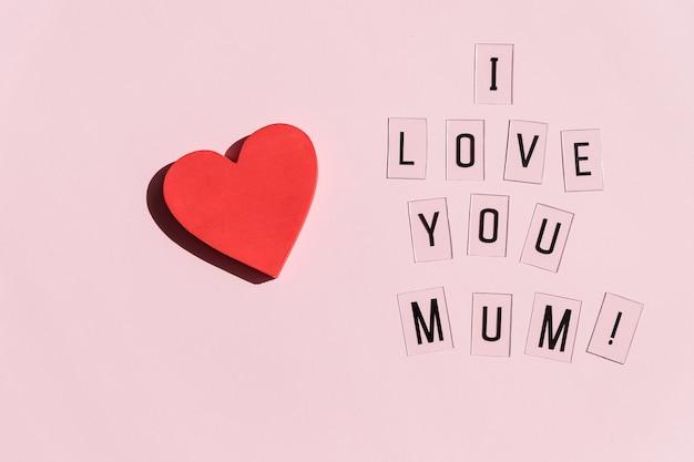 Kartkę z życzeniami na dzień matki. kocham mamę, mamo tekst