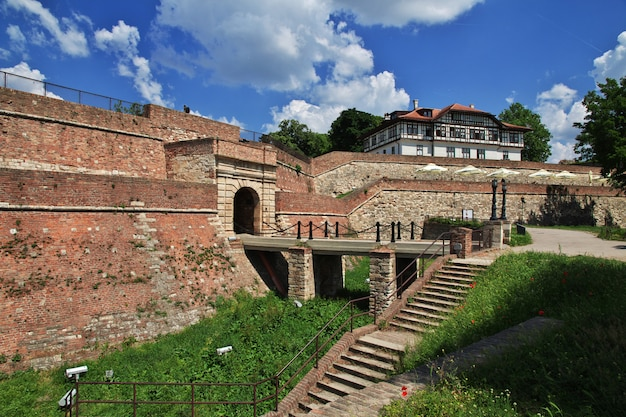 Kasztel w belgrade mieście, serbia