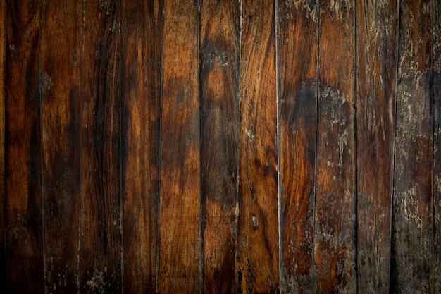 Kąt widzenia z góry brązowy drewniany stół tekstura tło.