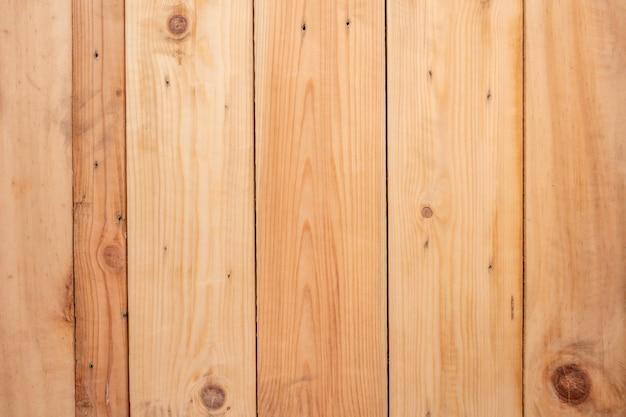 Kąt widzenia z góry brown drewniane powierzchni tekstury tła.
