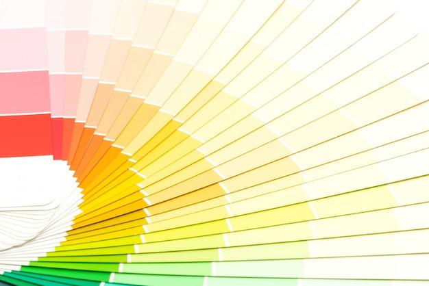 Katalog przykładowych kolorów