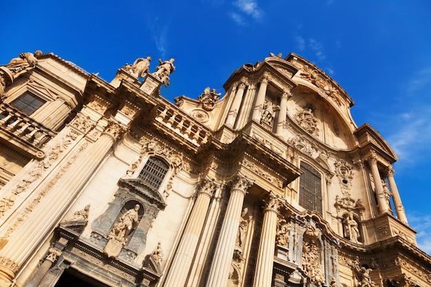 Katedra kościół najświętszej marii panny w murcji