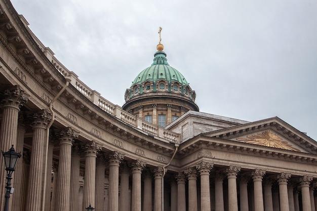 Katedra matki bożej kazańskiej w sankt petersburgu, rosja
