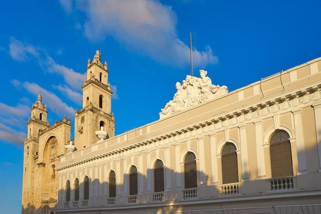 Katedra merida san idefonso na jukatanie