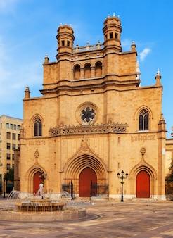 Katedra najświętszej marii panny. castellon de la plana