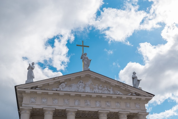 Katedra rzymskokatolicka w wilnie na litwie