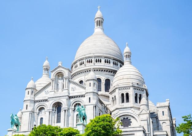 Katedra sacre coeur montmartre, paryż,