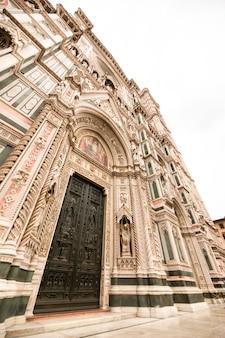 Katedra santa maria del fiore we florencji, włochy.