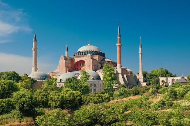 Katedra st. sophia, stambuł, turcja