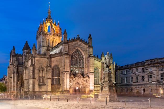 Katedra św. idziego edynburg royal mile