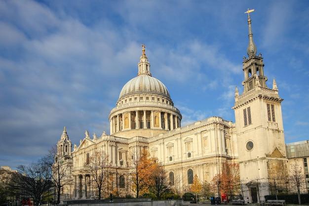 Katedra św. pawła w londynie anglia wielka brytania