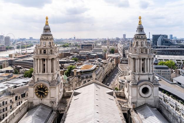 Katedra św. pawła widok z lotu ptaka