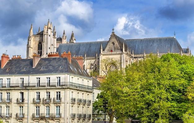 Katedra św. piotra i pawła w nantes we francji
