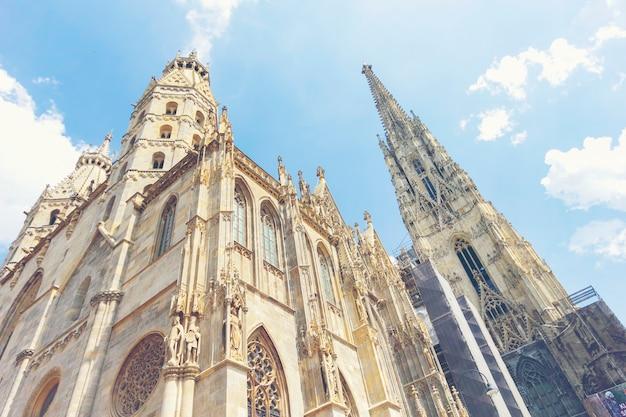 Katedra św szczepana w centrum wiednia, austria