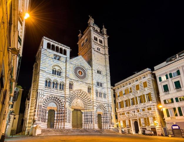 Katedra św. wawrzyńca w genui - włochy