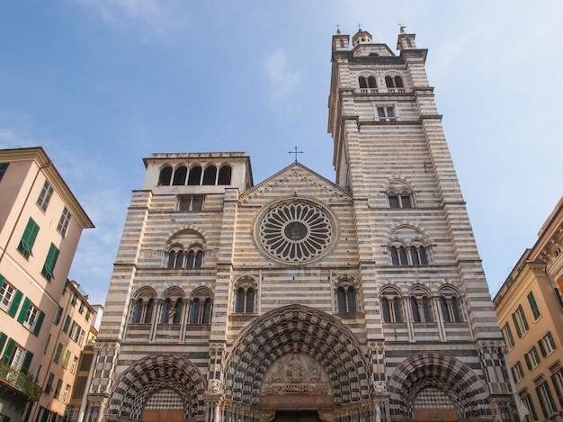 Katedra św. wawrzyńca w genui