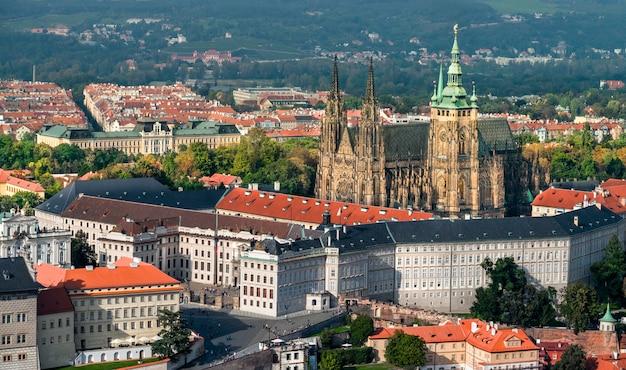 Katedra św. wita i zamek praski