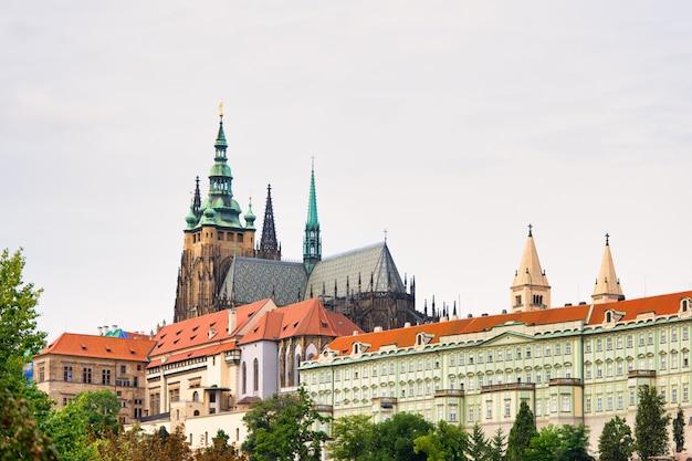 Katedra św. wita w pobliżu zamku praskiego
