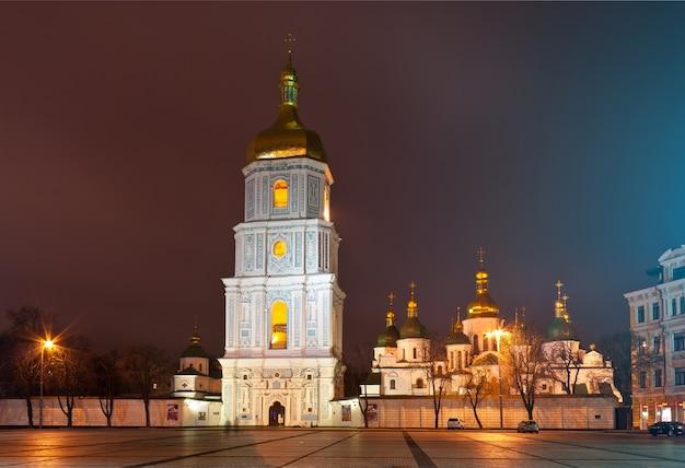Katedra św. zofii w kijowie na ukrainie