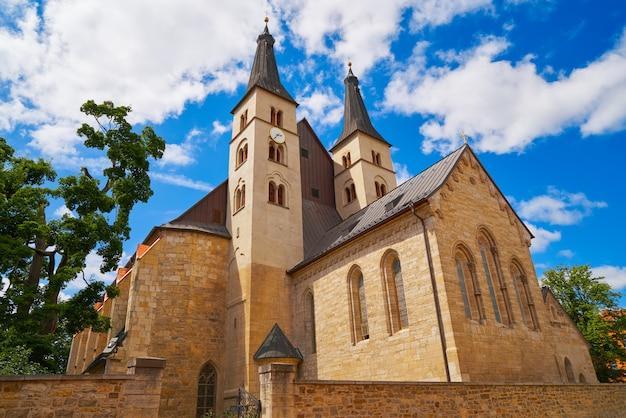 Katedra świętego krzyża w nordhausen w niemczech