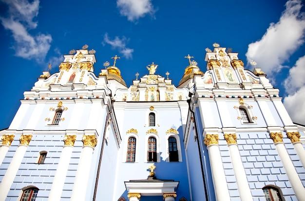 Katedra świętego michała w kijowie na ukrainie