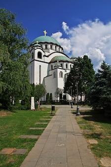 Katedra świętego sawy, belgrad, serbia