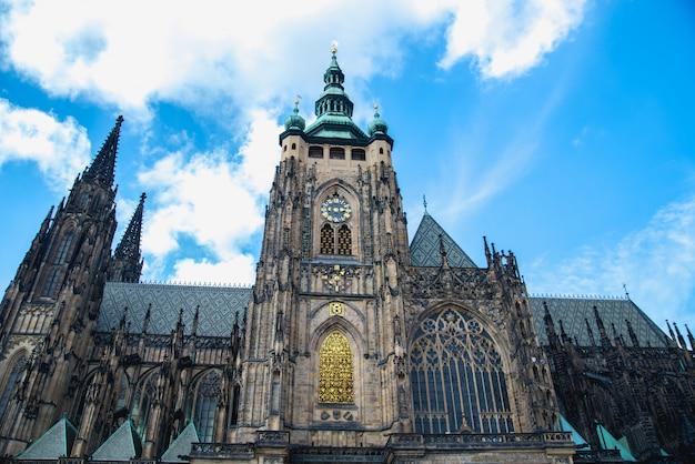 Katedra świętego wita w pradze czechy
