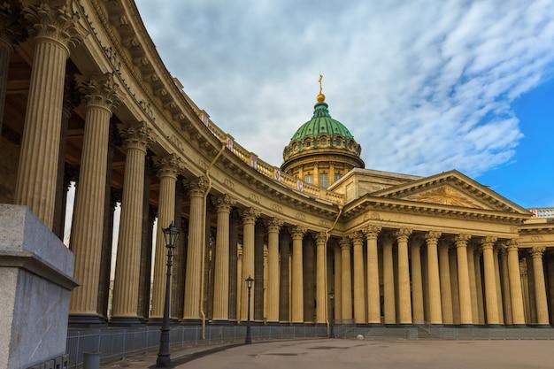 Katedra w kazaniu, sankt petersburg, rosja
