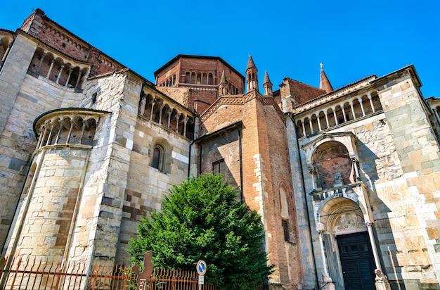 Katedra w piacenzy w regionie emilia-romania, w północnych włoszech