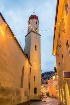 Kath. pfarrkirche, frauenkirche, kościół w feldkirch - austria