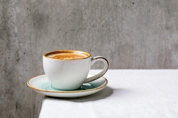 Kawa espresso z czarnej kawy