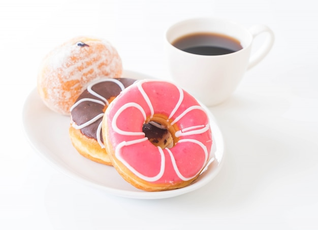 Kawa i pączki