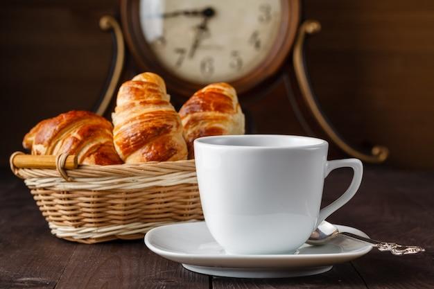 Kawa i rogalik