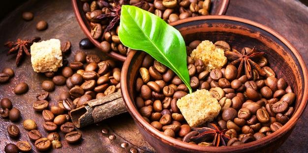 Kawa palona w ziarnach