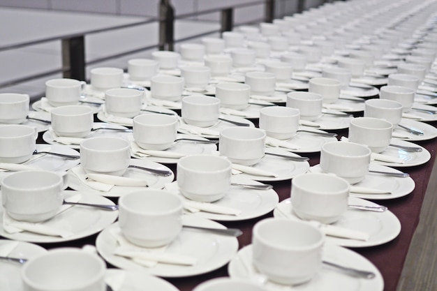 Kawa w formie bufetu
