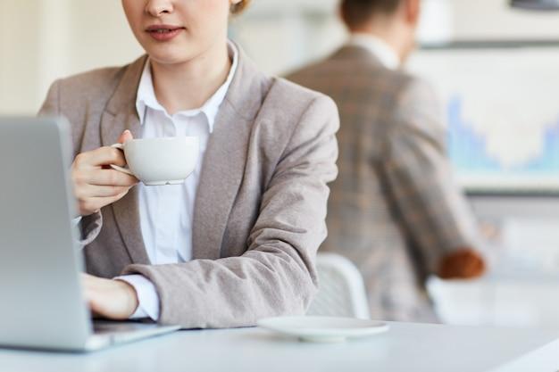 Kawa w pracy