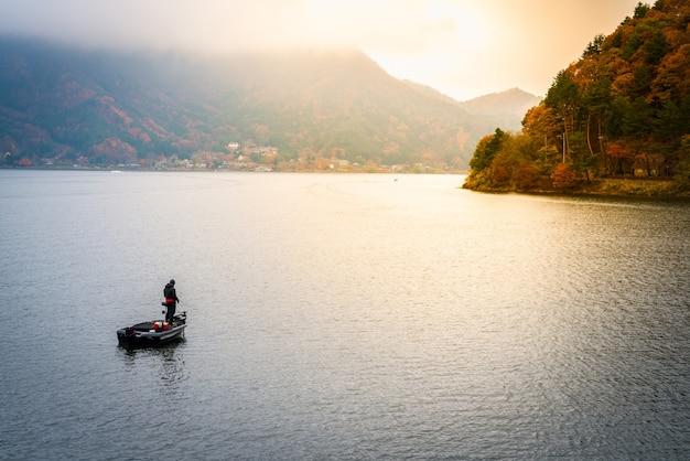 Kawaguchiko jeziora japonia