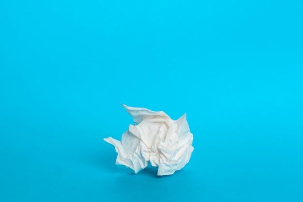 Kawałek papierowej serwetki