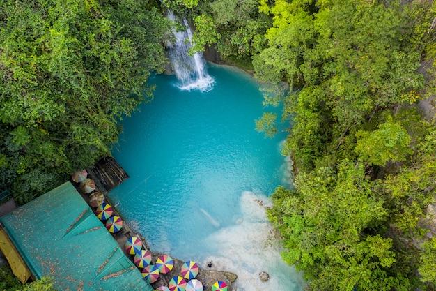 Kawasan falls w cebu na filipinach