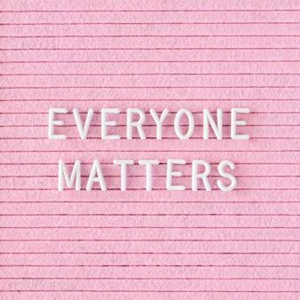 Każdy ma znaczenie, cytuj z bliska
