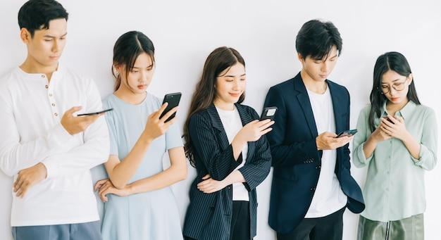 Każdy skupia się na używaniu telefonów, nikogo nie obchodzi, szkoda technologii