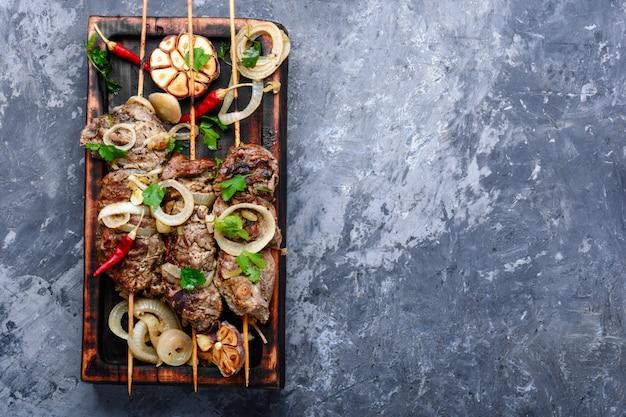 Kebab - mięso z grilla