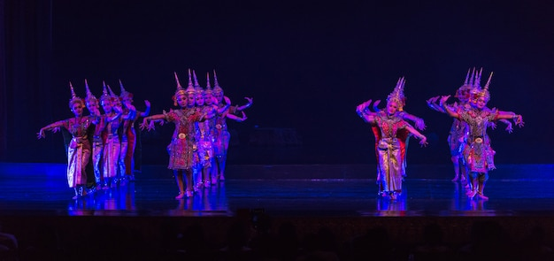 Khon jest tanecznym dramatem tajskiego klasycznego zamaskowanego